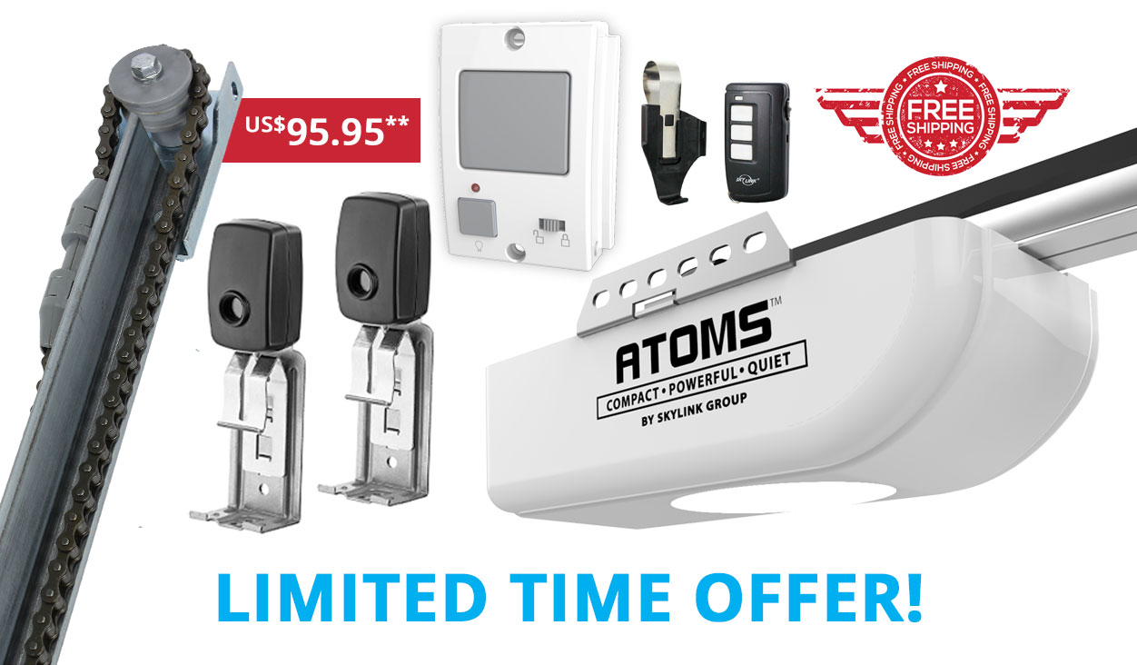 Professional Garage Door Opener Atoms Skylink Products
