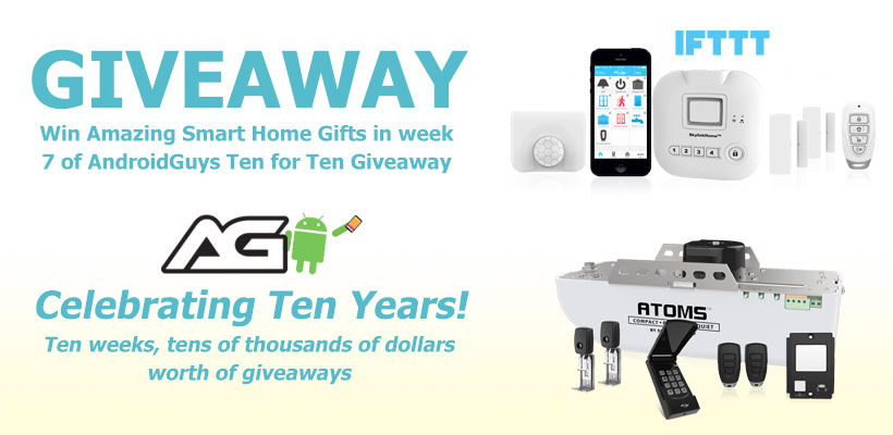 Win Amazing Smart Home Gifts