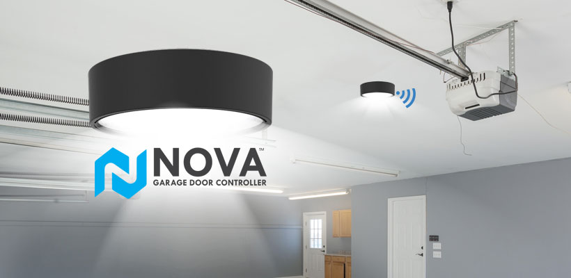Skylink Groupu0027s Nova Smart Garage Door Controller Syncs With Amazon Alexa
