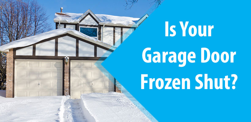 Frozen Garage Door Atoms Garage Door Opener